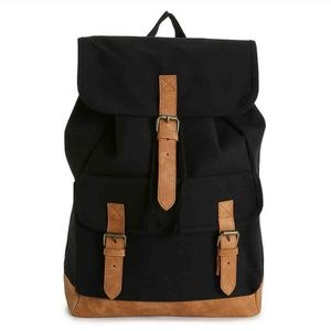 DSW Canvas Backpack NWT